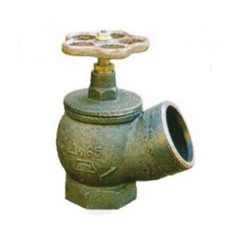 Вентиль ДУ-65, чугун угловой (РПТК)