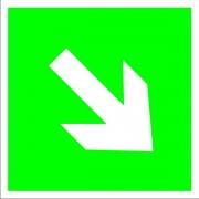 Знак п/б на метал. и пласт. основе(светоотр) 20*20